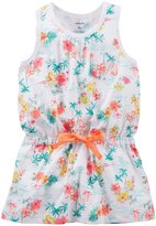 Carter's Tropical Print Babydoll (Baby) - Multicolor-18 Months