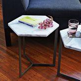 west elm Hex Side Table – Steel