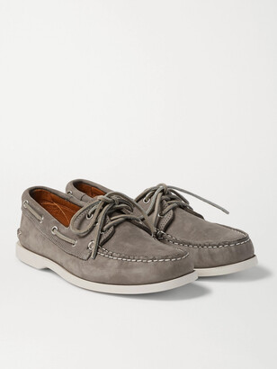 Quoddy Downeast Nubuck Boat Shoes