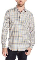 Nautica Men's Classic Fit Wrinkle Resistant Estate Plaid Shirt
