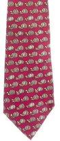 Hermes Silk Jockey Hat Print Tie