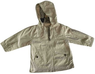 Burberry Beige Polyester Jackets & Coats