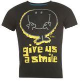 Character Mr Men Mens Print T-Shirt Short Sleeve Top Tee Summer Casual Crew Neck Collar