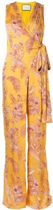Alexis Kamiko floral wrap jumpsuit