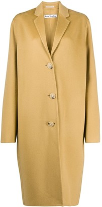 Acne Studios Relaxed Double-Face Wool Coat