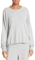 Vince Women's Fine Gauge Cotton Easy Pullover
