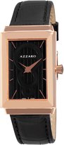 Azzaro Men's AZ2061.52BB.000 Legand Rectangular Rose PVD Dial Watch