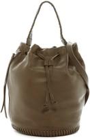AllSaints Club Leather Bucket Bag