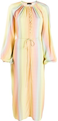 Stine Goya Rainbow striped dress