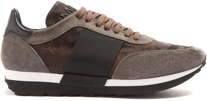 Moncler Horace camouflage-jacquard low-top trainers