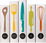Juniper Books S/5 Classic Cookbooks Utensil Collection