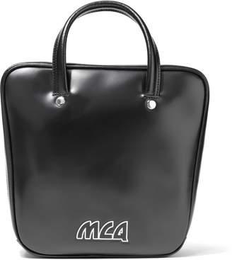 McQ Ivy Flip Leather Shoulder Bag