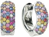 Effy Jewelry Effy 925 Sterling Silver Splash Multi Sapphire Earrings, 2.25 TCW