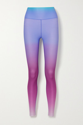 Splits59 Ava Ombre Stretch Leggings - Pink