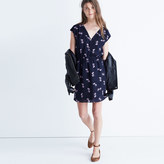 Madewell Skygaze Dress in Pansy Bouquet