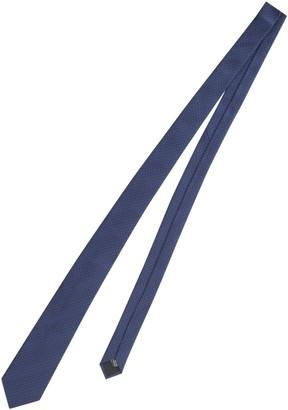 Lanvin Micro Dot Silk Tie