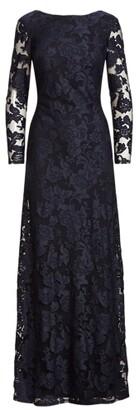 Lauren Ralph Lauren Ralph Lauren Floral Lace Gown