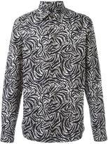 Marni abstract printed shirt - men - Cotton - 46