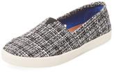 Toms Avalon Printed Linen Slip-On Sneaker