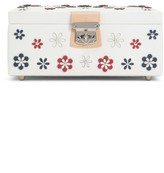 Wolf Medium Blossom Jewelry Box - Ivory