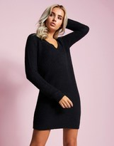 Vila V Neck Jumper Dress