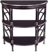 Sterling Artistic Lighting 6041256 Cheval Traditional Asian Hardwood Half-Round Console