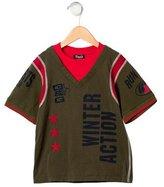 Dolce & Gabbana Boys' Embroidered Short Sleeve Shirt