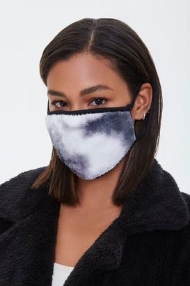 Forever 21 Plush Tie-Dye Face Mask