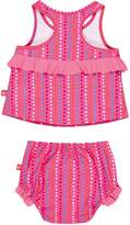 Lassig Splash and Fun Baby 2 pc Tankini Set girls UV protection 50+