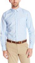Izod Uniform Men's Long Sleeve Oxford Shirt