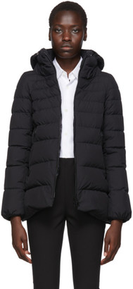 Herno Black Down Windstopper Hilo Jacket