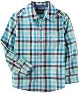 Osh Kosh Oshkosh Bgosh Boys 4-12 Button Down Dress Shirt