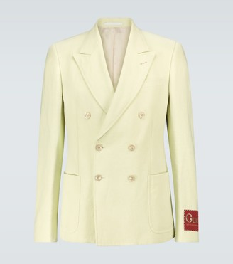 Gucci Exclusive to Mytheresa - linen and cotton blazer