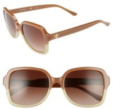 Tory Burch Women's 55Mm Sunglasses - Black