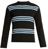 Acne Studios Ker Stripe Crew-neck Sweater