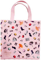 LADUREE Pink Small Accessories Shopping Bag - Small