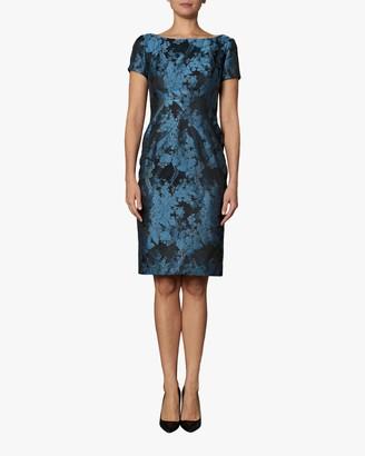 Zac Posen Short Sleeve Cocktail Dress