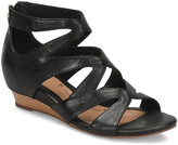 Sofft Women's Sandals BLACK - Black Regan Leather Sandal - Women