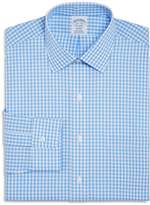 Brooks Brothers Gingham Check Regular Fit Dress Shirt