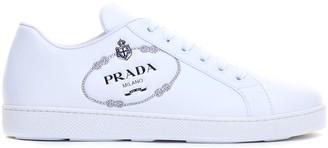 Prada Printed Logo Sneaker