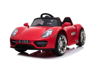 Kool Karz Roadster Electric Ride On Toy Car (Red)