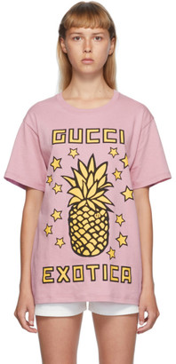 Gucci Purple Exotica Pineapple T-Shirt