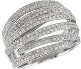 EFFY 14 Kt. White Gold & Diamond Ring