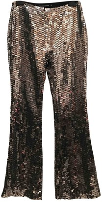 Filles a papa Silver Trousers for Women