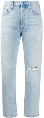 Citizens of Humanity Mackenzie cropped mid rise jeans