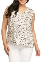 Tart Plus Size Women's Patti Leopard Print Top
