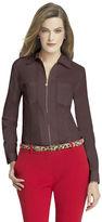 Anne Klein Zip Front Shirt