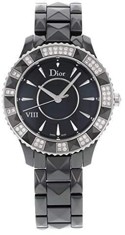 Christian Dior Women's CD1241E0C001 VIII Face Crystal and Diamond Watch