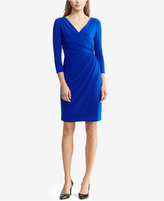 Lauren Ralph Lauren Surplice Jersey Dress