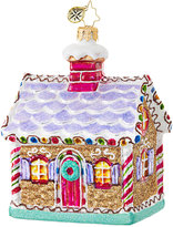Christopher Radko Jewel Of A Ginger House Ornament